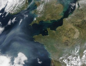 dust and clouds from space