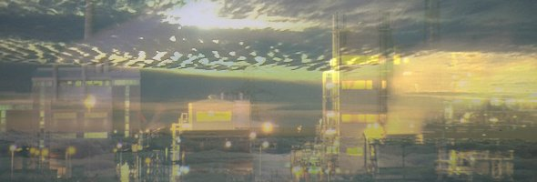 chemical plant in the sky