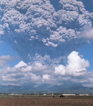 Mt Pinatubo eruption