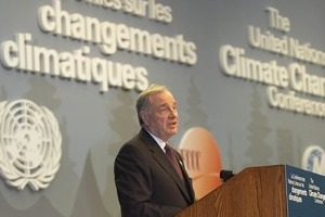Paul Martin - climate summit Montreal